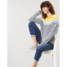 Joules Seaport Roll Neck Raglan Jumper