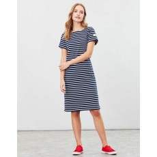 Joules Riviera Long Short Sleeve Jersey Dress