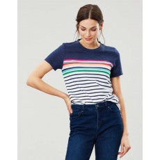 Joules Carley Classic Crew With Chain Stitch Detail