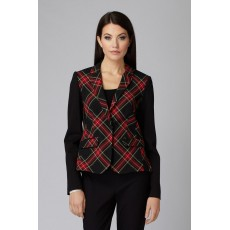 Joseph Ribkoff Black/Red Jacket