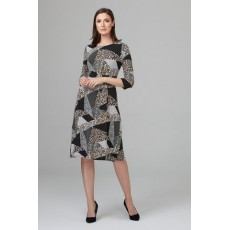 Joseph Ribkoff Black/Multi Dress
