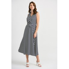 Joseph Ribkoff Midnight Stripe Dress