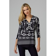 Joseph Ribkoff Midnight Top