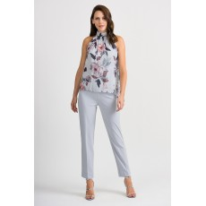 Joseph Ribkoff Grey Multi Top