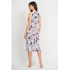 Joseph Ribkoff Grey Floral Dress