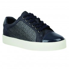 Lotus Cologne Trainers Navy Leather
