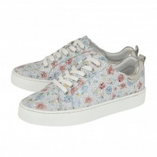 Lotus Garda Trainers Multi Floral Leather