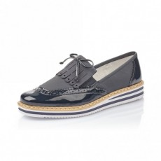 Rieker Loafer Marine/pacific