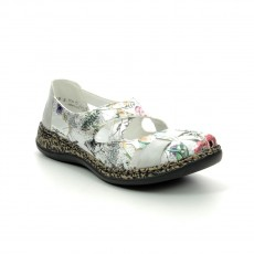 Rieker Bouquet Shoe Ice Multi