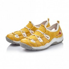 Rieker Yellow Sneakers