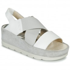 Fly London BIME Off/White Concrete Sandal