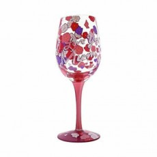 Lolita Wine Glass I Love You Mum