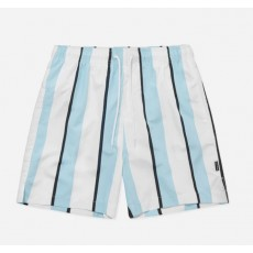 Nicce Stripe Swim Shorts