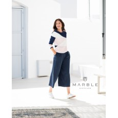 Marble Trousers Navy