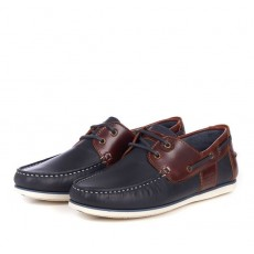 Barbour Capstan  Shoe Navy/Brown