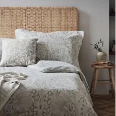 Morris & Co Pure Pimpernel Bedding Grey