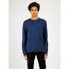 Pretty Green Paisley Embroidery Crew Sweat