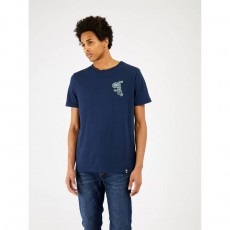 Pretty Green Paisley Chest Embroidery T-Shirt
