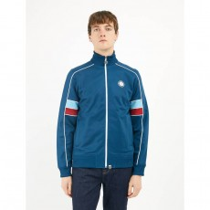Pretty Green Piped Contrast Panel Track Top