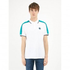 Pretty Green Contrast Panel Tipped Polo Shirt
