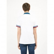 Pretty Green Contrast Cuff Polo Shirt