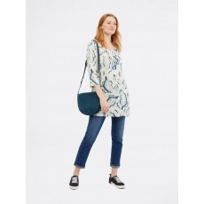 White Stuff Elodie Linen Tunic Canvas Print