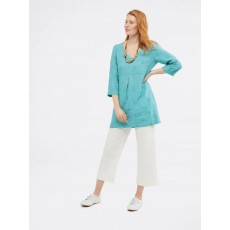 White Stuff Bailey Tunic Pot Blue