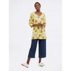 White Stuff Bailey Tunic Yellow Print