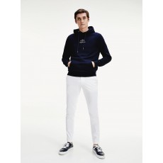 Tommy Hilfiger Basic Embroidered Hoody Desert Sky