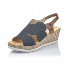 Rieker Wedge Sandal Pacific