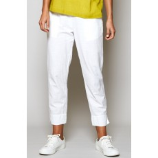Nomads Slim cropped Trouser White
