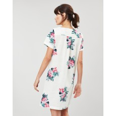 Joules Fifi Print Shift Dress With Seams