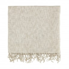 Murmur Grain Throw Linen