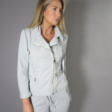Decollage Pearl Grey Jacket