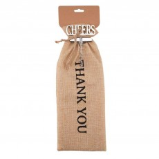 Loft Thank You Bag & Bottle Opener Gift Set