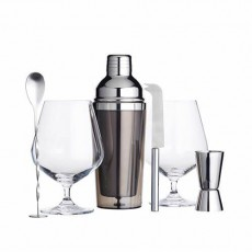 BarCraft Gin Cocktail Gift Set 6pc