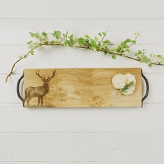 Scottish Made Monarch Stag Serving Tray 45cm