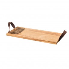 Scottish Made Whisky Oak Serving Tray