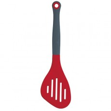 Colourworks Silicone Slotted Turner Red