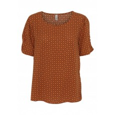 SoyaConcept Gigi Blouse Dark Orange