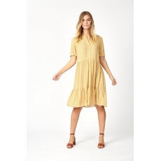 SoyaConcept Iggy Dress Yellow Combi