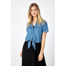 SoyaConcept Liv Shirt Medium Blue