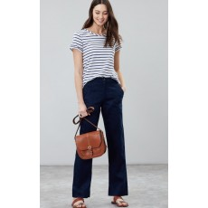 Joules Lindy Linen Trousers French Navy