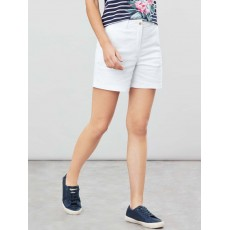 Joules Cruise Mid Thigh Length Chino Shorts Bright White