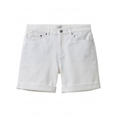 WhiteStuff Eva Boyfriend Denim Short White