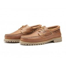 Chatham Sperrin Boat Shoe Dark Tan