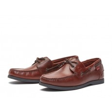 Chatham Galley II Burgundy Boat Shoe