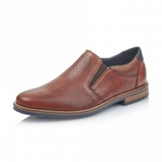 Rieker Slip on Shoe Brown