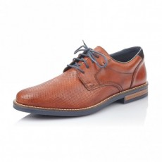 Rieker Lace up Shoe Amaretto/Pacific