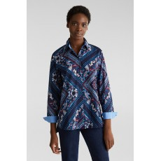 Esprit Soft E-Cotton Blouse Navy